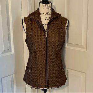 Gorgeous and Flattering Insulated Vest - Size Sm